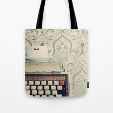 Type and Coffee Tote Bag