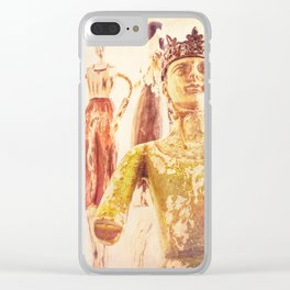 King and Subjects Clear iPhone Case
