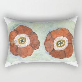 Flower: Primula Auricula Rectangular Pillow