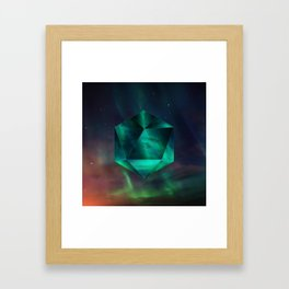 Magnetic fields Framed Art Print