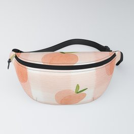 Peach Gingham Fanny Pack