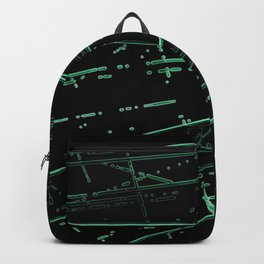Neon Disco #8 Backpack