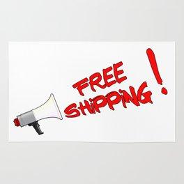 Free Shipping Megaphone Rug