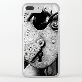 Key To My Heart Clear iPhone Case