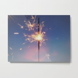 Perhaps We Are Wishing For Each Other Upon The Same Star Metal Print