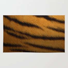 Tiger Print Pattern Design Rug