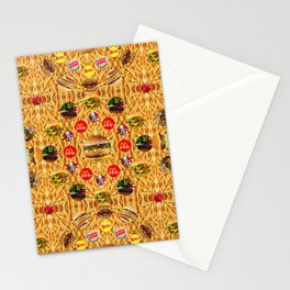 ALL YOU CAN EAT WALLPAPER 1 Stationery Cards