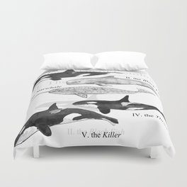 II. The Octavo Whale Duvet Cover