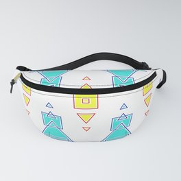 Primitive Cute Geometric Seamless Pattern Fanny Pack