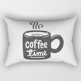 Coffee Time Rectangular Pillow