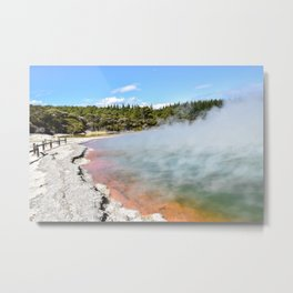 Wanaka, New Zealand Metal Print