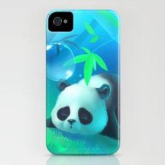 Bamboo Panda iPhone (4, 4s) Slim Case