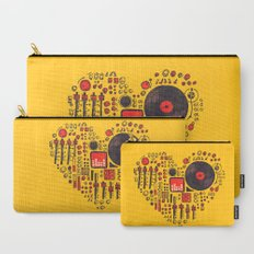 Music in every heartbeat Carry-All Pouch