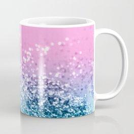 Tropical Beach Lady Glitter #1 #shiny #decor #art #society6 Coffee Mug
