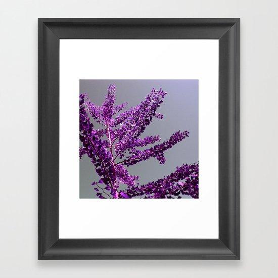 ginkgo tree II Framed Art Print