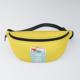 Wish You Were Beer Fanny Pack