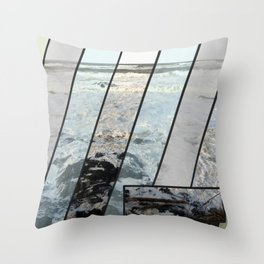 Ocean Sized Throw Pillow