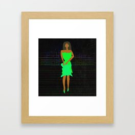 Paper Doll 2 by Kimberly J Graphics Framed Art Print