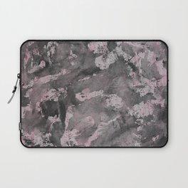 Black Ink on Pink Highlighter Laptop Sleeve