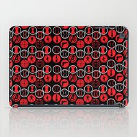 black widow iPad Cases featuring Black Widow  by Page394