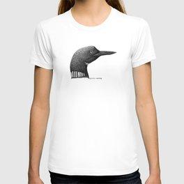 Loon Portrait T-shirt