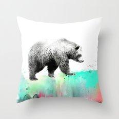 Wild No. 1 // Bear Throw Pillow