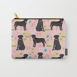 Black Lab labrador retriever dog breed pet art easter pattern costume spring Carry-All Pouch