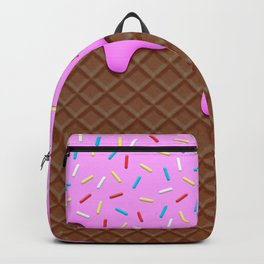 Chocolate and Strawberry Icecream Backpack