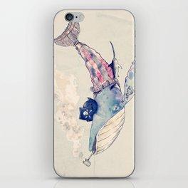 Pirate Whale iPhone Skin