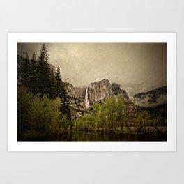 Yosemite - Study 40 Art Print