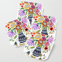 Calico Bouquet Coaster