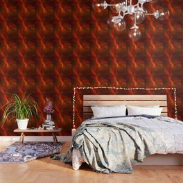 Warmth, Abstract Fractal Art Wallpaper