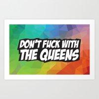 YAS, Queen. Art Print