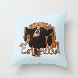 Pugsley Addams Throw Pillow