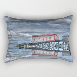 Reflections of Tenby 3 Rectangular Pillow