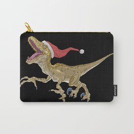 Christmas Velociraptor Carry-All Pouch