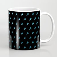 polygon Mugs featuring Polygon by Evi Radauscher