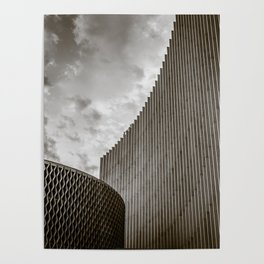 Texturized Brutalism Poster