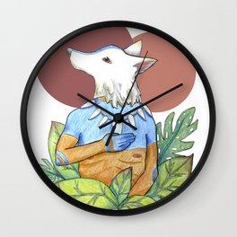 El Chaman de la Selva Wall Clock