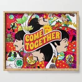 Come Together Serving Tray