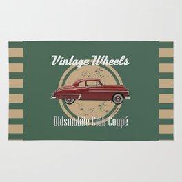 Vintage Wheels: Oldsmobile Club Coupé Rug
