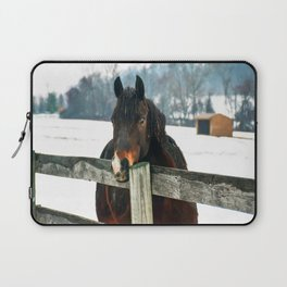 Thoughtful Horse Laptop Sleeve