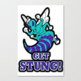 Get Stung Canvas Print