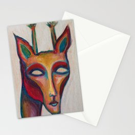 Giraffe Man Stationery Cards