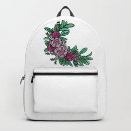 Roses Wreath Backpack