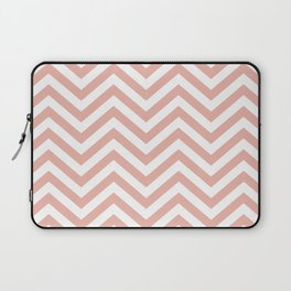 Chevron Coral  - Lovely Sping Color Pattern -  01 Mix & Match Laptop Sleeve