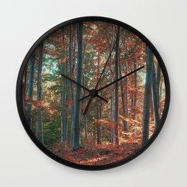 morton combs 03 Wall Clock