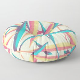 Grass Feathers Floor Pillow