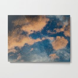 cloud-mosaic Metal Print