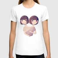 sisters T-shirts featuring Sisters by Nan Lawson